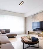 【东易日盛】国贸仁皇 92平三室户型 现代简约之家